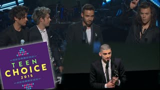 WTF! One Direction & Zayn Malik Battling For Same Teen Choice Award!