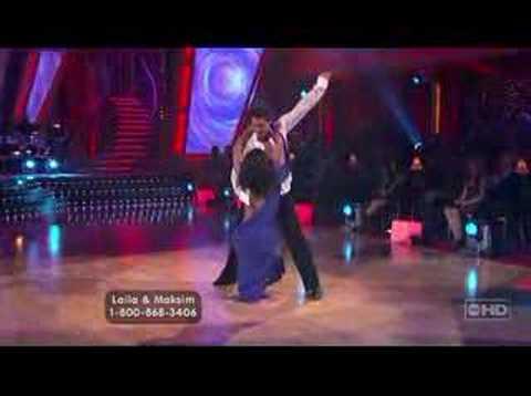 Laila Ali & Maks - Rumba (Full Clip)