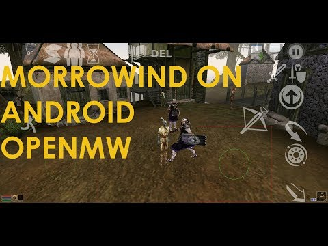 I have made the first video on how to get Morrowind running on