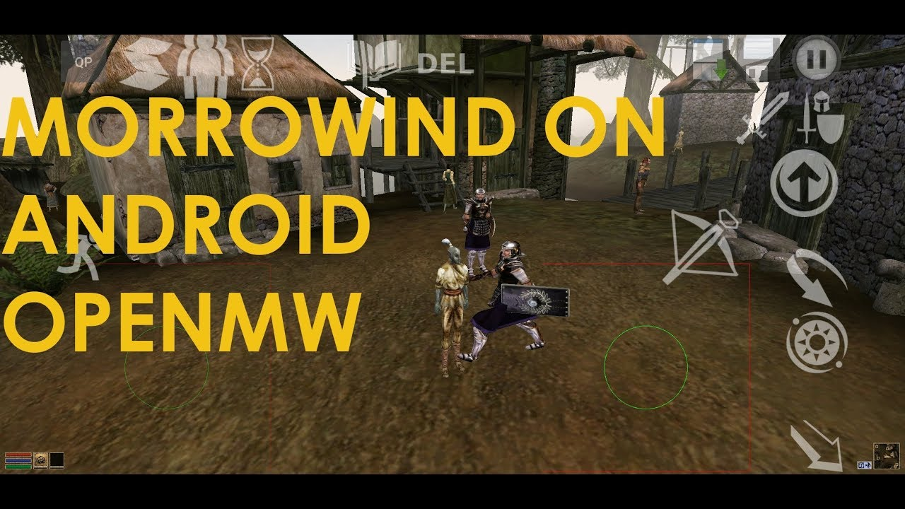 Morrowind on Android Using OpenMW Port Gameplay Full game