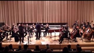 Bach Orchestral Suite 2 Francisco Henriques Violin solo Camerata Gareguin Aroutiounian