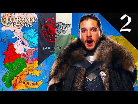 JON (AEGON) TARGARYEN, SIEGES KING'S LANDING! Crusader Kings 2: Game of Thrones: Jon Snow (Aegon) #2