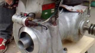 Accensione motore PASBO dopo la mesa in ordine
