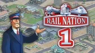 Rail Nation 1/3 - Kostenloses Bahnhof-Simulationsspiel • Rail Nation Gameplay German