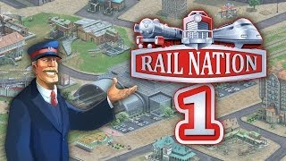 Rail Nation 1/3 - Kostenloses Bahnhof-Simulationsspiel • Rail Nation Gameplay German