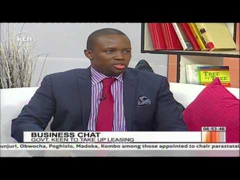 Business chat with Manager NIC Leasing Irene Karuga