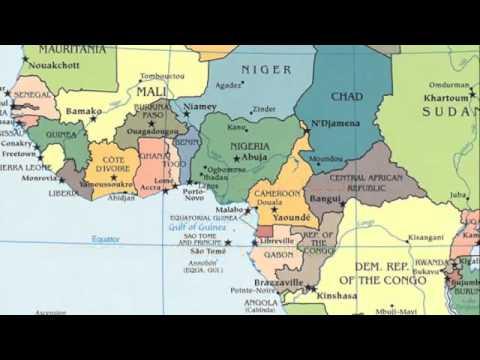 Rap geografico sull'Africa