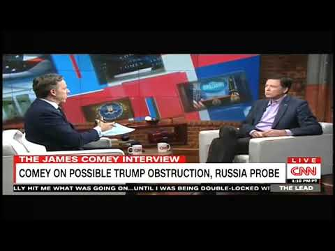 Tapper Presses Comey on Saying It's Possible Trump Compromised by Russians