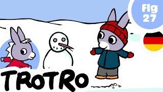 TROTRO - EP27 - Trotro und der Schneemann