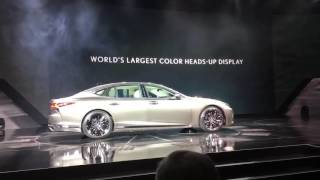 NAIAS2017: 2018 Lexus LS Reveal
