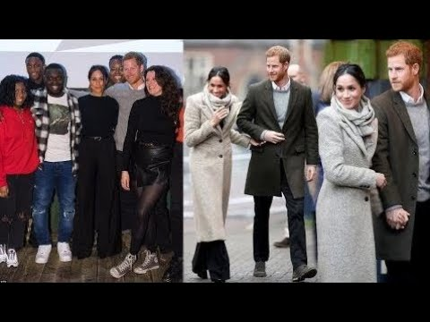 News Today -  Meghan wears trousers for Brixton visit - she does things her own way