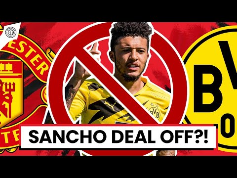 Jadon Sancho Deal OFF?! | Stretford Paddock Podcast