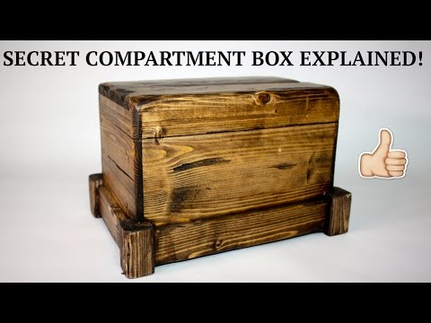 How to Build a Secret Compartment Box Out of Little More Than a 2 x 4
