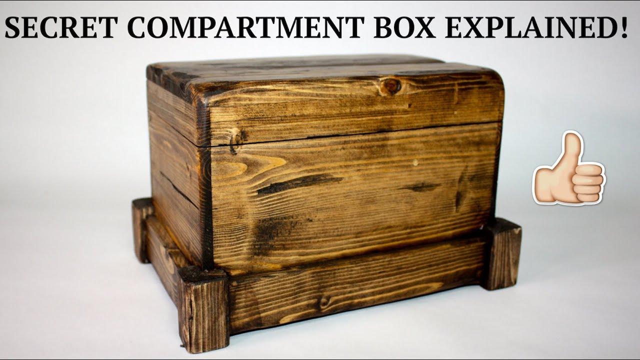 How to secret compartment box ii youtube solutioingenieria Choice Image