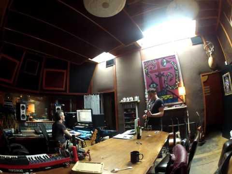 "Marc Martel, John Fields & Jenn Decilveo cutting the outro of ""paradise"""