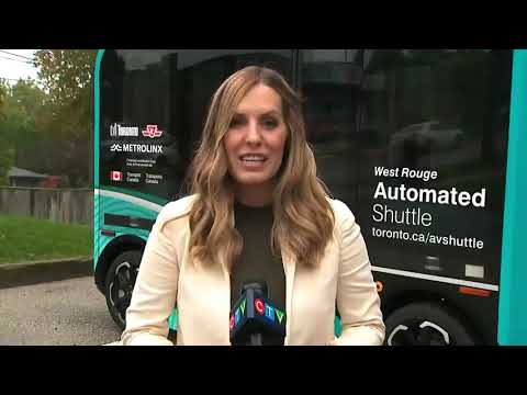 CTV Coverage: Meet Olli, Scarborough's automated shuttle