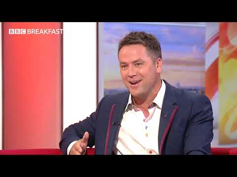 Michael Owen speaks to BBC Breakfast about his new autobiography