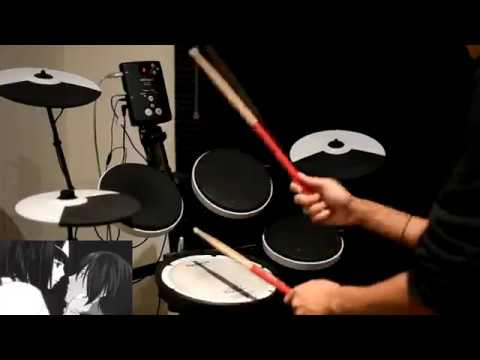 Noragami OP -【Goya no Machiawase (午夜の待ち合わせ)】by Hello Sleepwalkers - Drum Cover