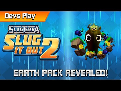 Slug it Out 2 DEVS PLAY | Earth Pack Unboxing