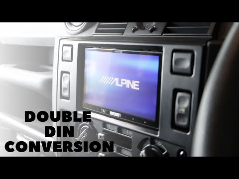 Double Din Conversion With Reversing Camera! | Land Rover Defender