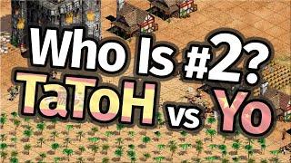 Who Is #2 in AoE2!? TaToH vs Yo!