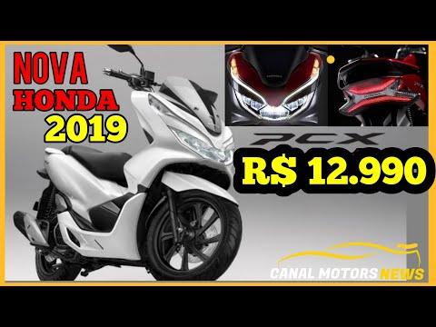 Nova Honda Pcx 150 2019 Youtube