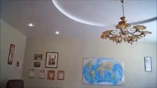 Немецкий Сатиновый Натяжной Потолок белого цвета в Два уровня в медицинском кабинете(Немецкий Сатиновый Натяжной Потолок белого цвета в Два уровня в медицинском кабинете., 2016-04-19T23:00:09.000Z)
