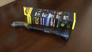 Nitecore MT42 Monster Flashlight in Small Size