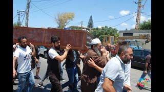 """جنازة المرحوم """"""""الحاج محمد يوسف صهيون ابو يوسف*   #موقع_البص  WWW.ALBUSS.NET"""