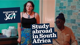 Study abroad in South Africa: Semester at Sea