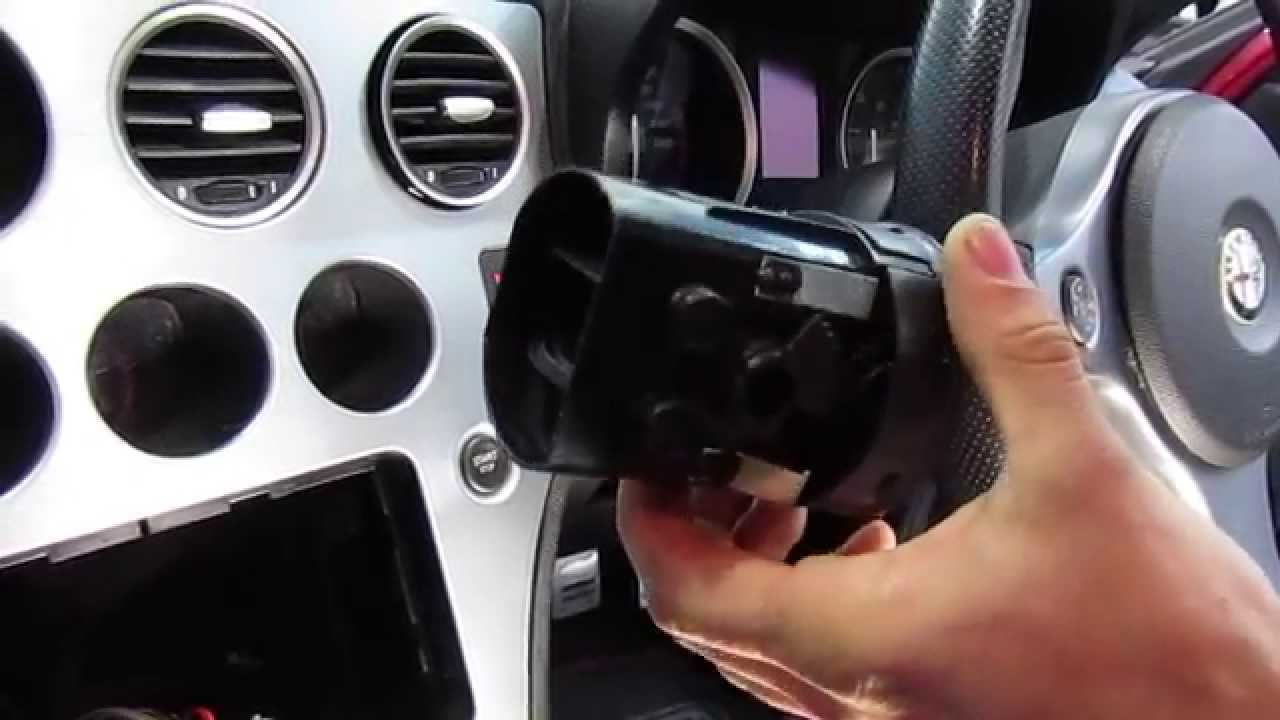 Alfa 159 Air Vent Removal Youtube