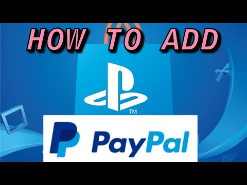 PS4 How to Add PayPal Account - YouTube