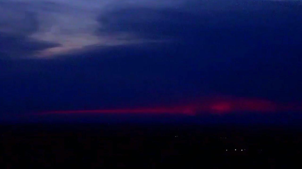 Strange Suns Setting on Planet ...Earth..?  WEIRD!