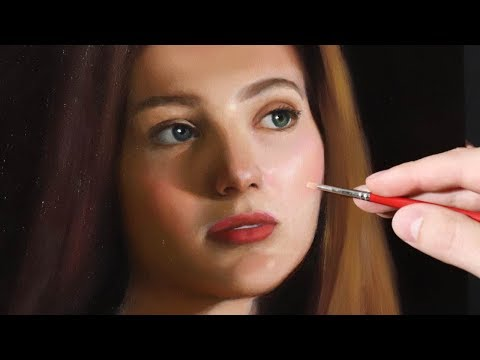 Portrait Painting Tutorial |  A Strategy for Success