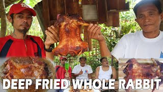 DEEP FRIED WHOLE RABBIT | LOW CHOLESTEROL, HIGH IN PROTEIN