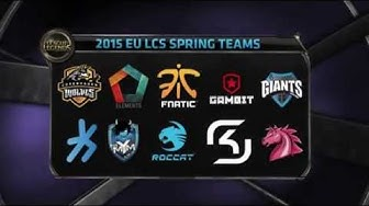 Welcome to S5 EU LCS Spring 2015 Week 1 Day 1! | Schedule, Rules, teams | S5 EU LCS