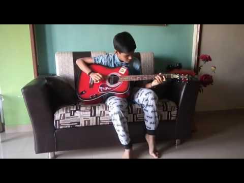 Saanson ki jarurat covered by guitar