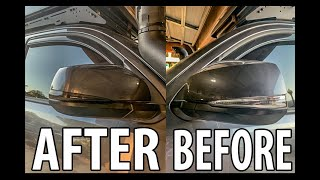 TACOMA MIRROR TURN SIGNAL BLACK SMOKED FOR UNDER $10?! MUST WATCH TO BELIEVE THIS IS HOW I DID IT!!!