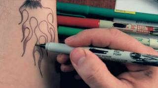 How To Draw Marker Tattoos: Part 1