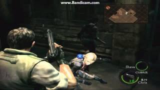 Resident Evil 5 - Como vencer a Wesker y quitarle el dispositivo rojo a Jill (Chapter 5-3)