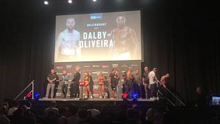 Nicolas Dalby at UFC Copenhagen Weigh-ins