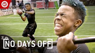 12-Year-Old Football SUPERSTAR | Bunchie Young Highlights Video