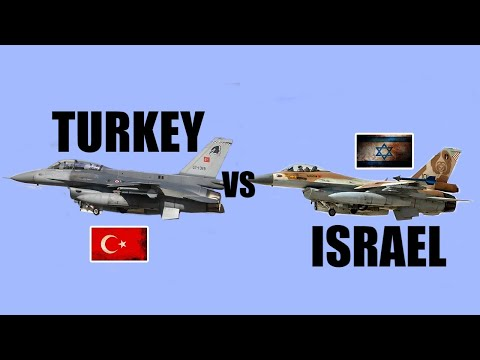 Turkey Vs Israel Military Power Comparison 2020