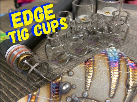 EDGE WELDING CUPS AND GAS LENS! TIG WELDING ART PROJECTS