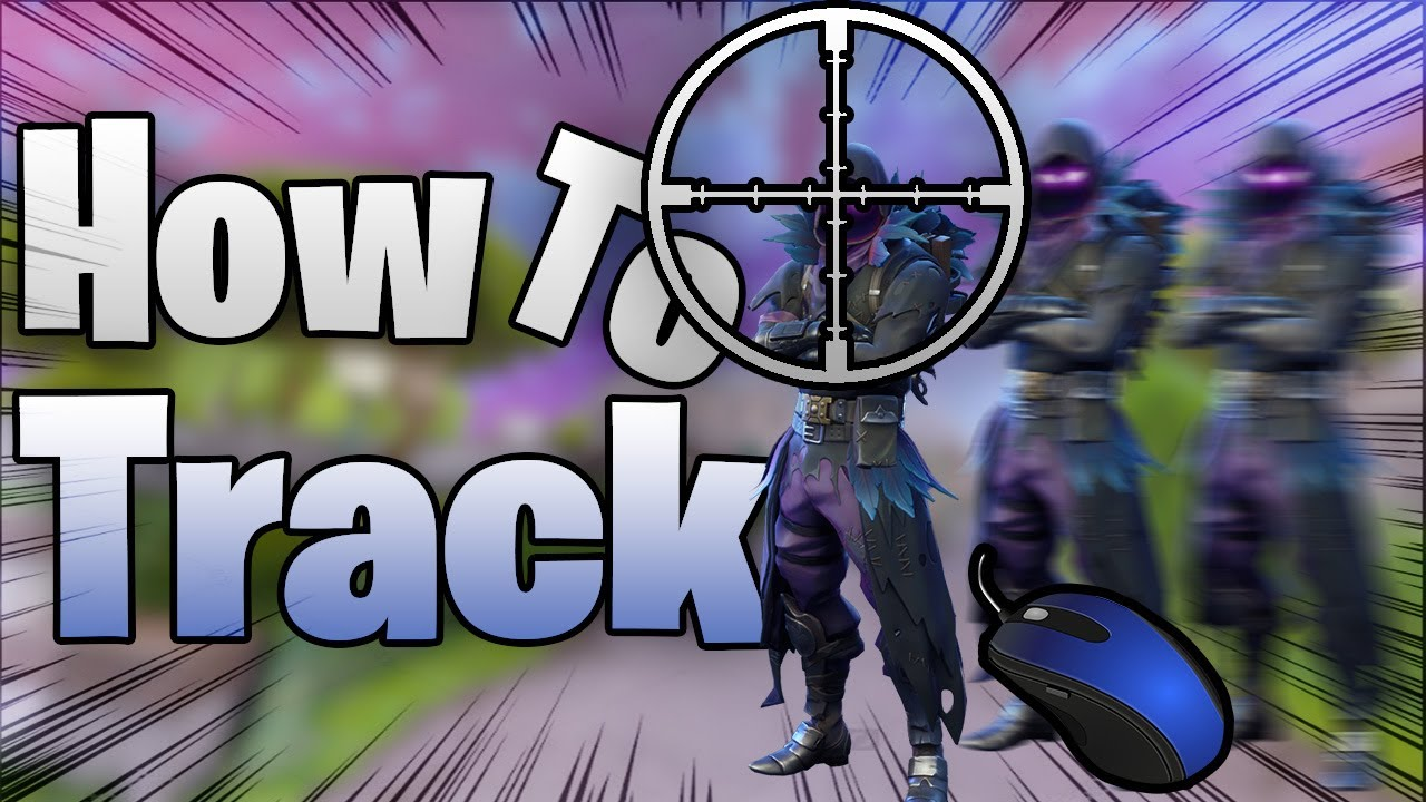 FORTNITE How To Improve Tracing/Track Aim PC Master Guide (Sensitivity,  General Tips, Practice)