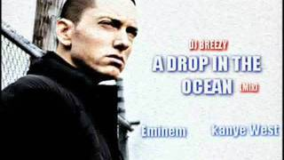 Eminem - A Drop In The Ocean (ft. Kanye West, Wiz Khalifa & Ron Pope) (Remix)