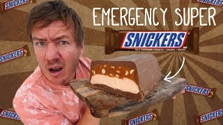 The Emergency Snickers Loaf