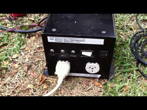 Running EV ZXA1 PA Speakers Off 12v Power
