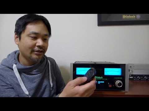 First Look: McIntosh Headphones Amp MHA-100 Unboxed