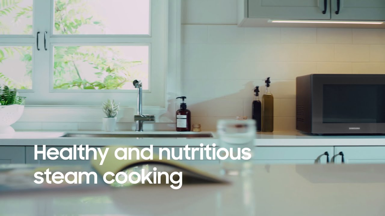 Samsung Baker Series Microwave | Healthy Steam